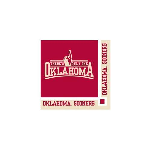 Celebrations Oklahoma Beverage Napkin