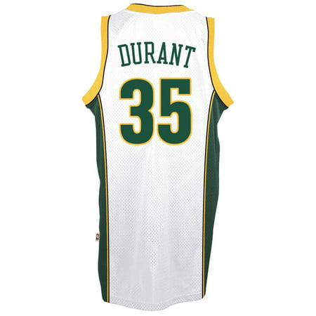 Kevin Durant Seattle SuperSonics Adidas Soul Swingman Jersey (White) for $<!---->