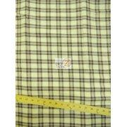 Tartan Plaid Uniform Apparel Flannel Fabric / Brown/Cream / Sold By The Yard