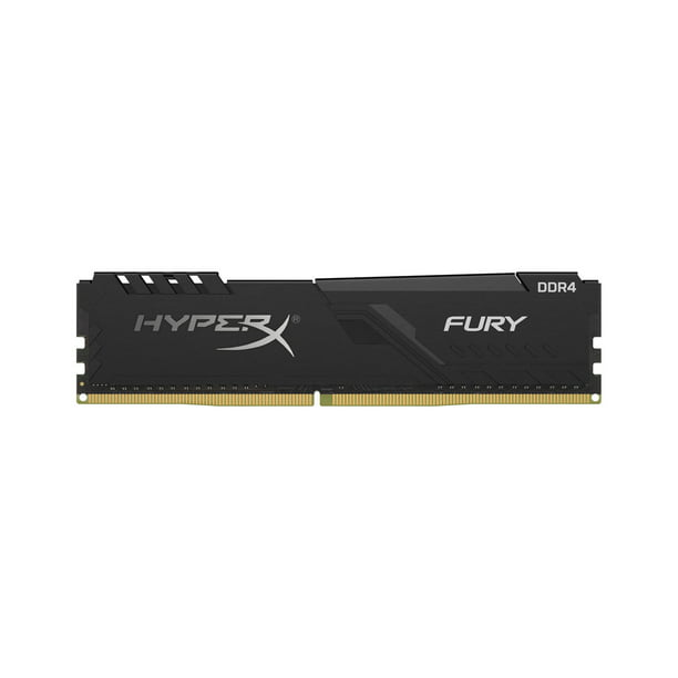 HyperX Fury 4GB 2400MHz DDR4 CL15 DIMM Black XMP Desktop Memory Single Stick Ram HX424C15FB3/4