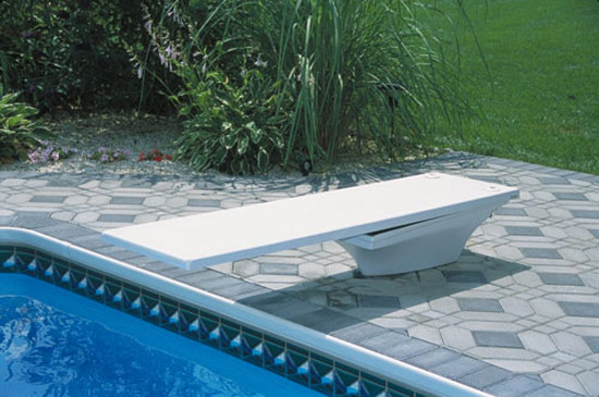 S.R. Smith 68-209-7362 Flyte-Deck II Stand with 6 foo Diving Board, White -  Walmart.com