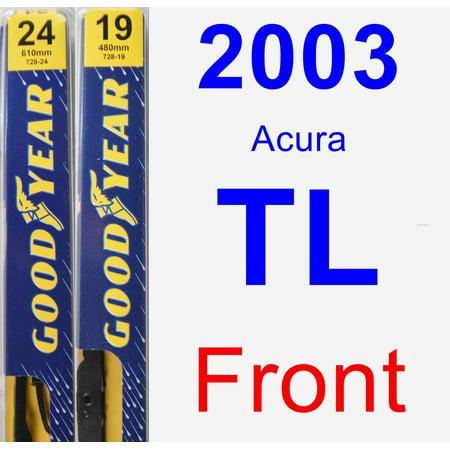 2003 Acura TL Wiper Blade Set/Kit (Front) (2 Blades) - Premium