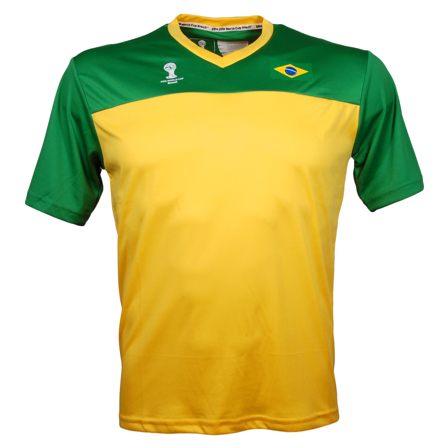 Brazil 2014 FIFA World Cup Marcos T-Shirt