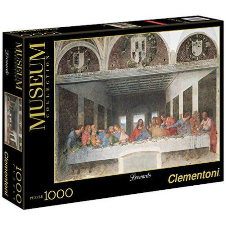 Clementoni The Last Supper 1000 Piece Leonardo da Vinci Jigsaw (Clementoni The Last Supper 13200 Piece Jigsaw Puzzle)