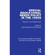 Special Educational Needs Policy in the 1990s - eBook