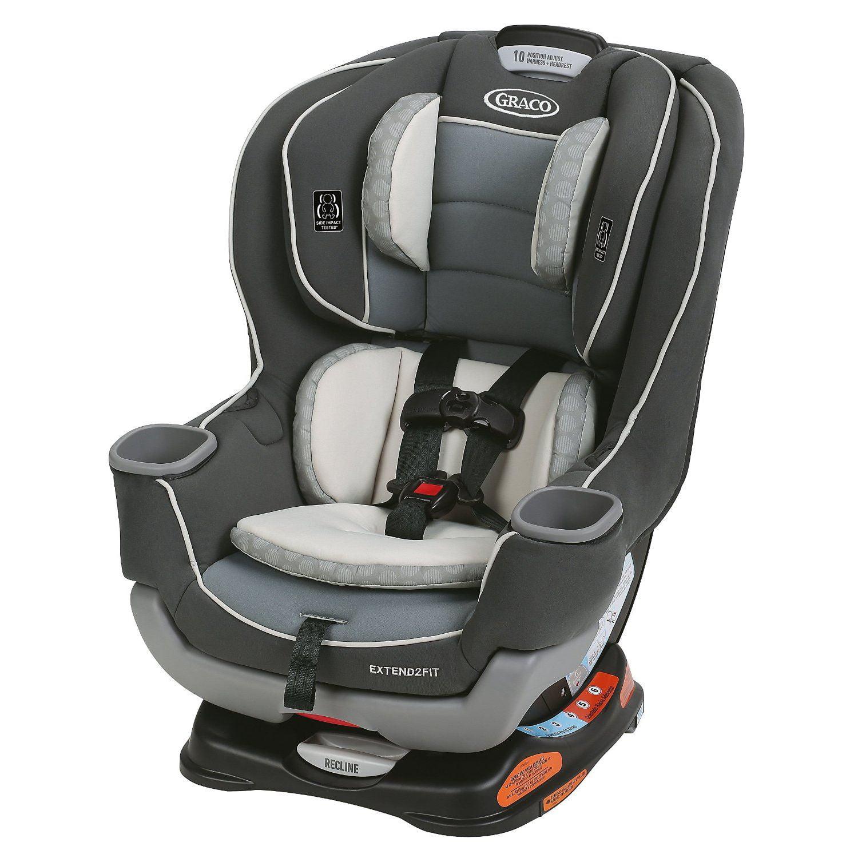 Graco Extend2Fit Convertible Car Seat, Choose Your Color - Walmart.com