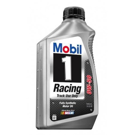 (3 Pack) Mobil 1 Racing Synthetic Motor Oil 0W50 - 1 Quart (Iii Racing)