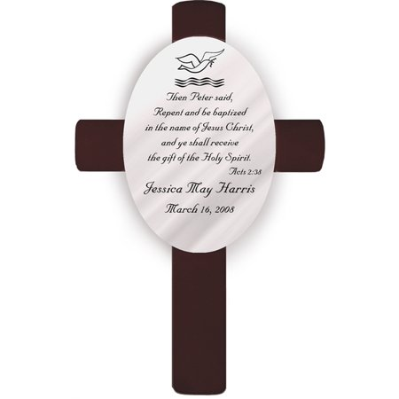 Personalized Baptism Crosses (Personalized Crosses)