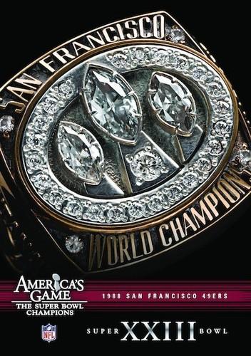 NFL America's Game: San Francisco 49ers Super Bowl XXIII (DVD) by Allied Vaughn