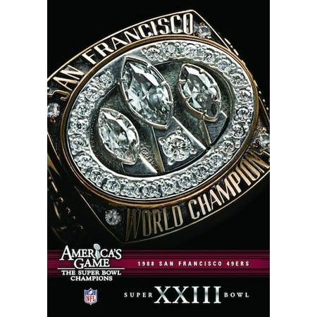 NFL America's Game: San Francisco 49ers Super Bowl XXIII (DVD)](Club Events For Halloween San Francisco)