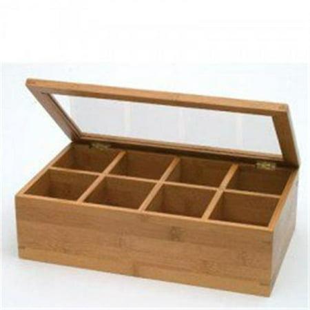 Lipper 8189 Bamboo Acrylic Adj. Tea Box - image 1 of 1
