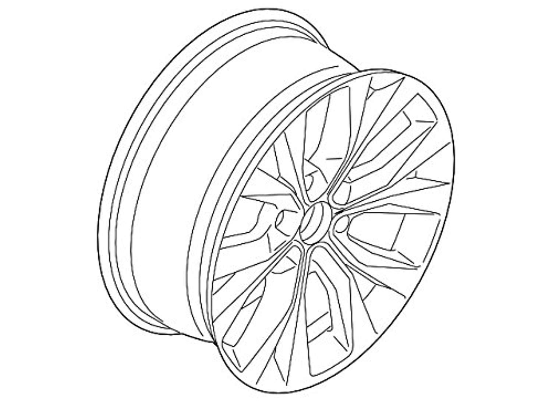 Ford Fl3z 1007 M Wheel Asy