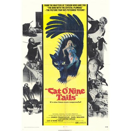 Cat O Nine Tails Movie Poster - 27 x 40 in. - image 1 of 1