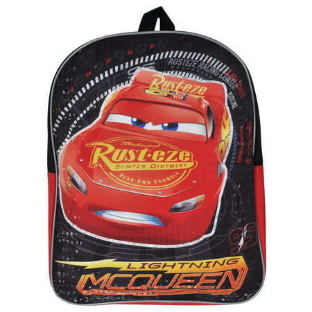 96bb345a103 Disney - Cars Lightning McQueen Boys Backpack 15