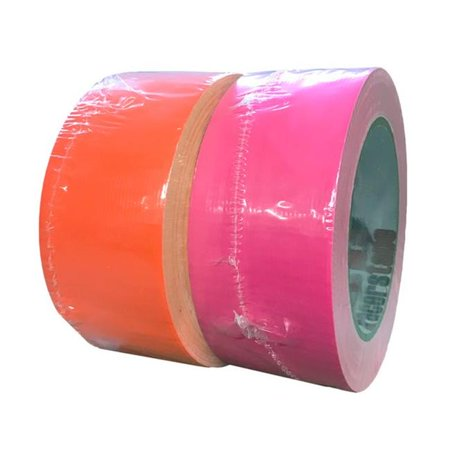Jacks 438-NP Neon Duct Tape, Neon Pink - 2 in. x 30 Yards - image 1 of 1