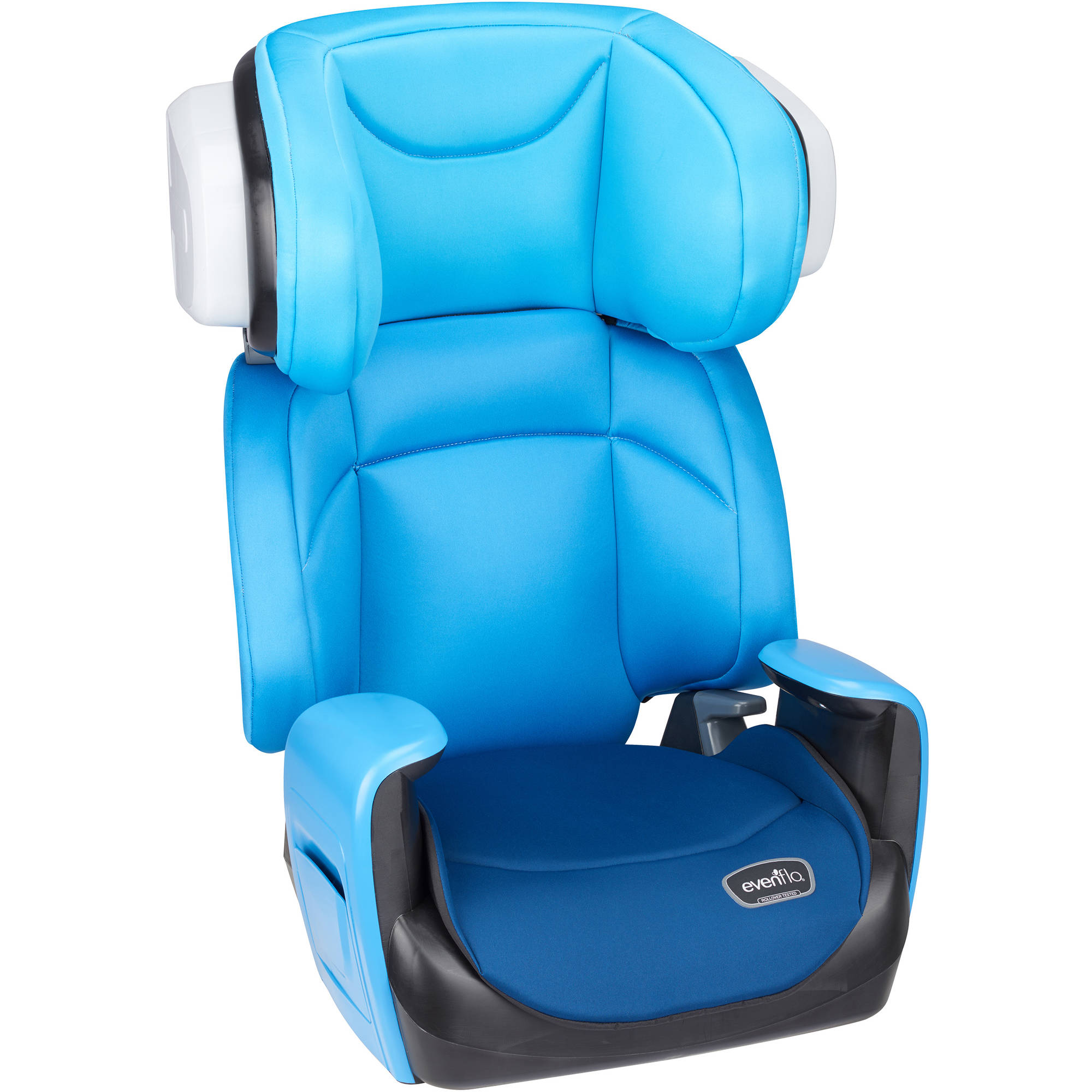 Evenflo Spectrum 2-in-1 High Back Booster Car Seat, Bubbly Blue ...