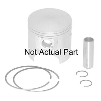 "Piston Kit ProX .020/.50mm Yamaha Fx 140 All ""Non HO"" Rings, Wrist Pin, & Clips Pro #: 7202X X-Ref #: 60E-11636-00-00"