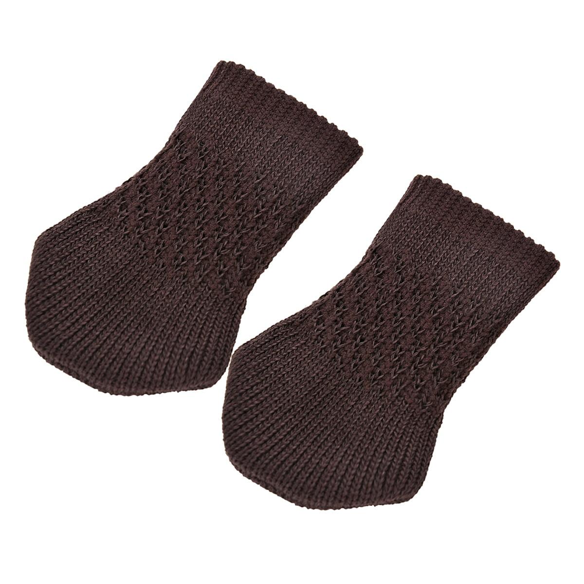 24Pcs Chair Socks, Outgeek Knitted Anti-skid Chair Leg Floor ...