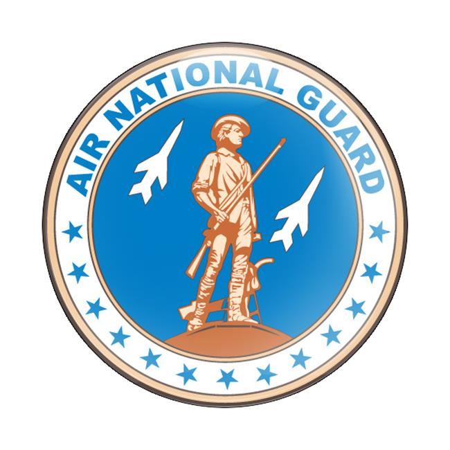 GoBadges CD0307 Magnetic Badge - Military Us Air National Guard