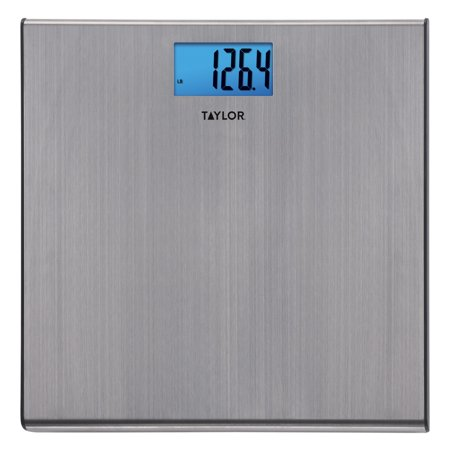 Taylor 7403 Digital Brushed Stainless Steel Bathroom Scale