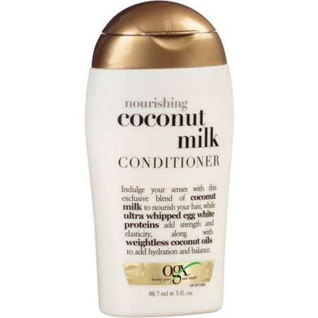OGX Nourishing Coconut Milk Conditioner -Travel Size - 3 fl oz