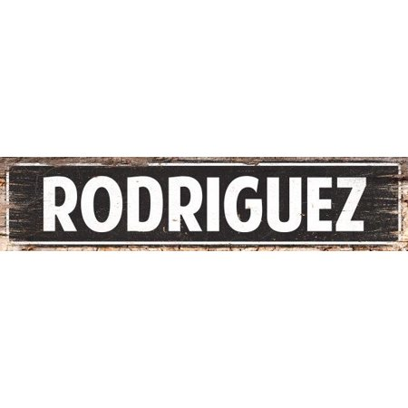 RODRIQUEZ MAN CAVE Street Chic Sign Home man cave Decor Gift Ideas 4180110