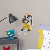 Fathead Leonard Fournette: LSU - Large Officially Licensed Removable Wall Decal