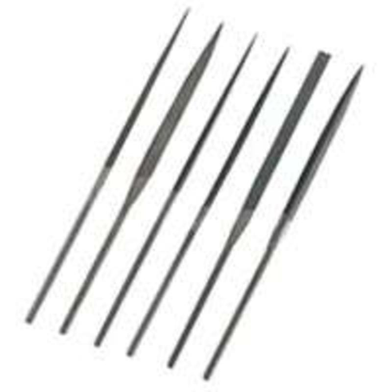 General Tools & Instruments S476 Swiss Pattern Needle File Set, 6-Piece