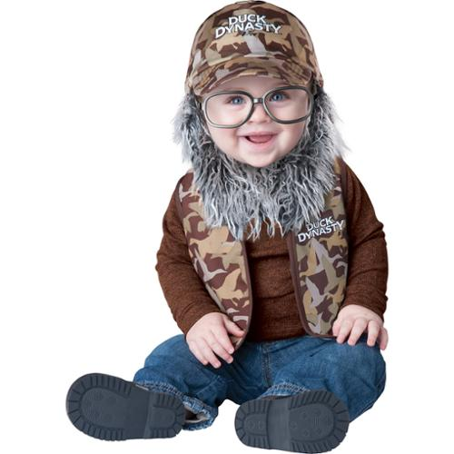 Infant Duck Dynasty Uncle Si Baby Costume by Incharacter Costumes LLC 101602, 6-12mo