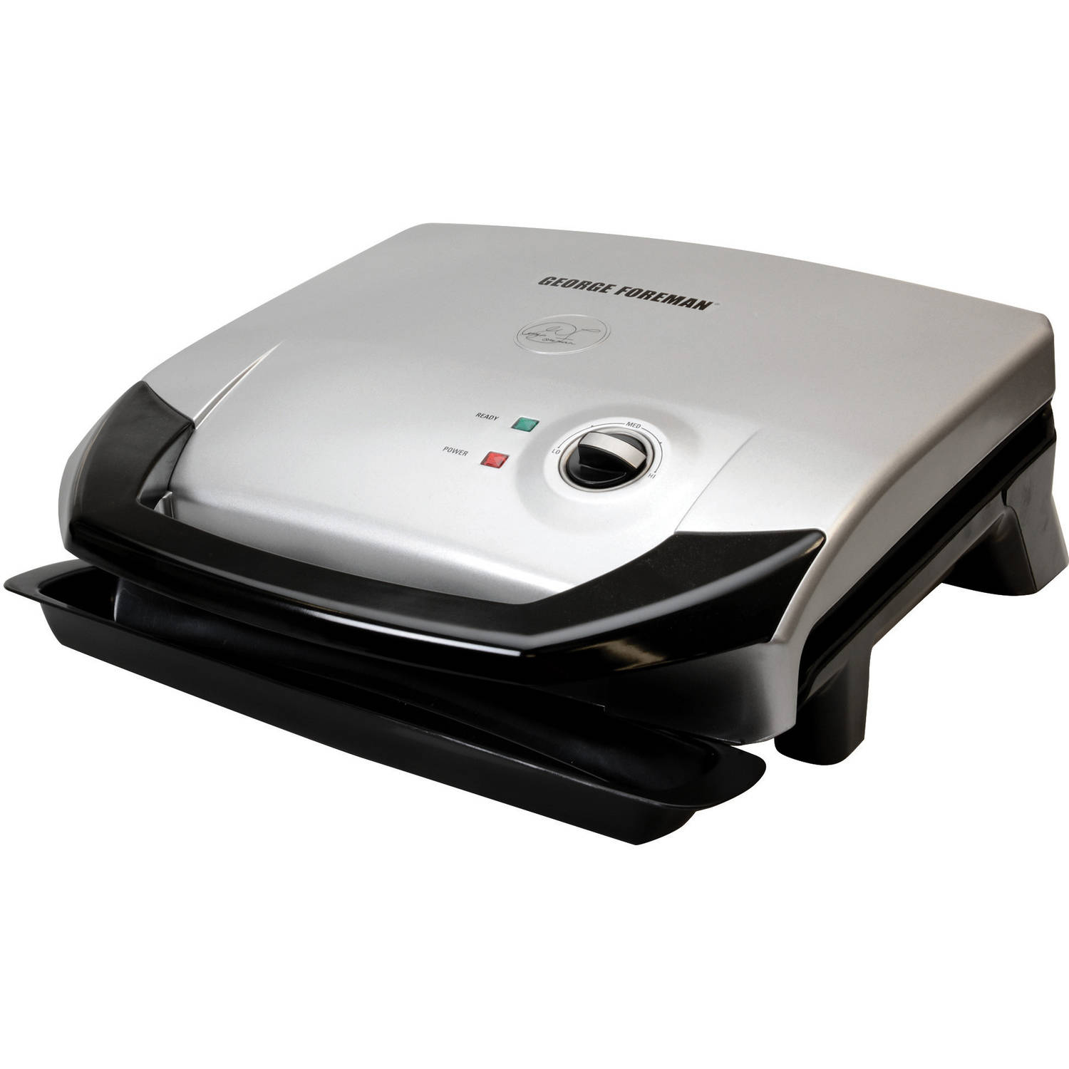 "George Foreman 120"" Fixed Plate Grill With Variable Temperature"