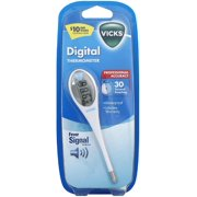 Vicks Digital Thermometer with Fever Alert 1 ea (Pack of 4)