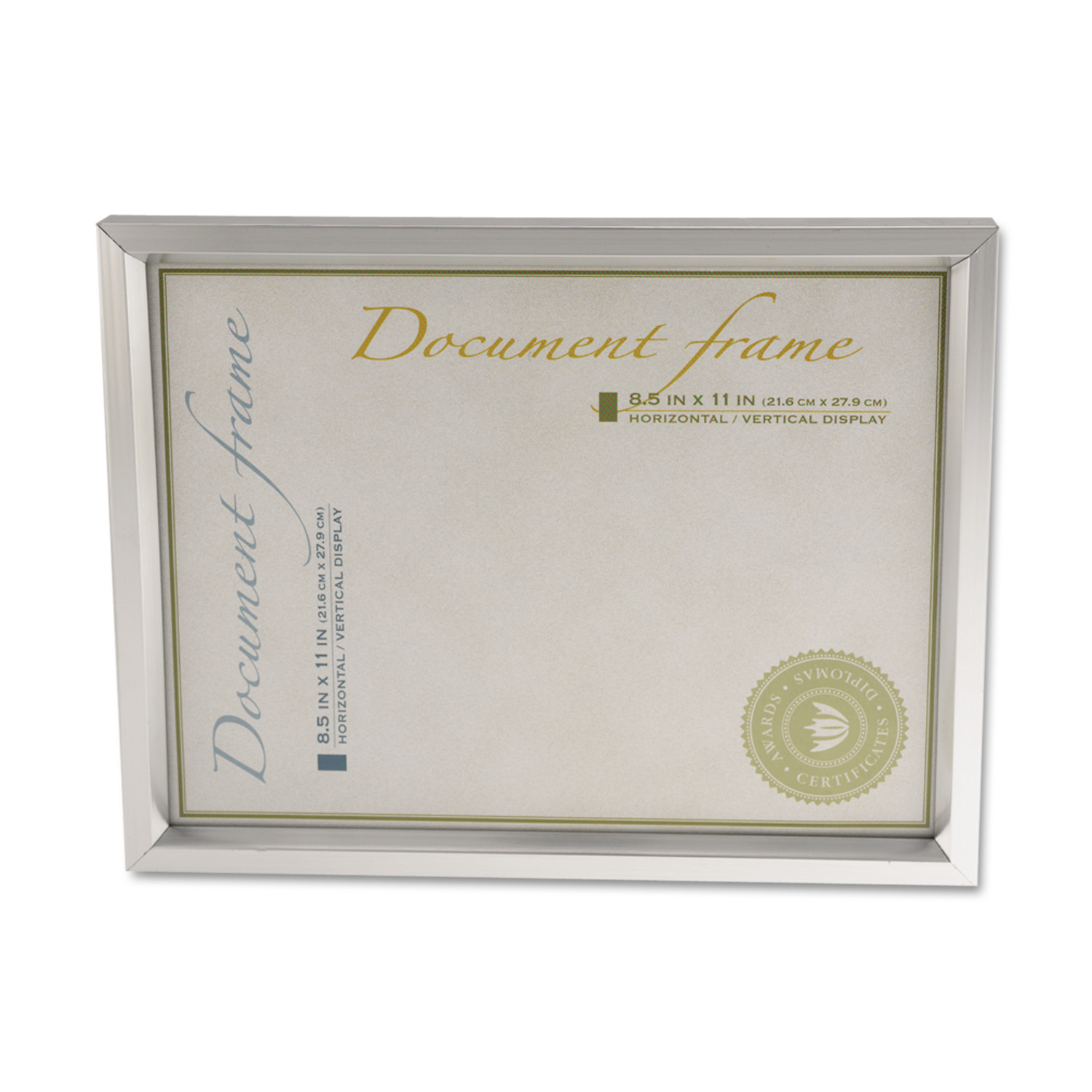 universal plastic document frame for 812quot x 11quot easel