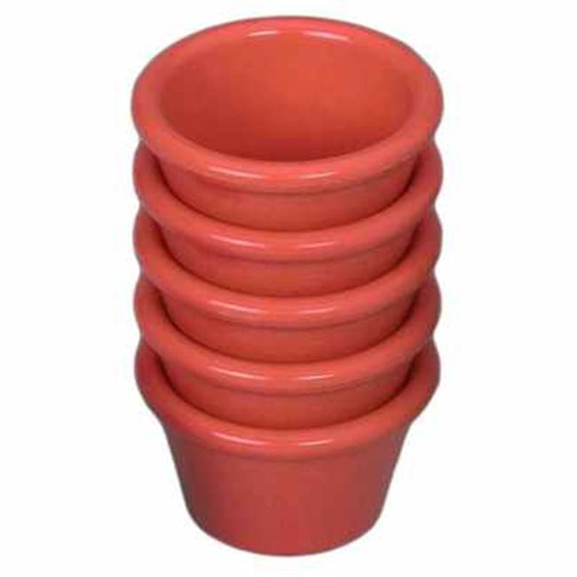 Gessner Products IW-0391-Mango 1. 5 oz.  Smooth-Sided Ramekin- Case of 12