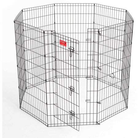 Lucky Dog Heavy Duty Pet Exercise Pen With Stakes  48