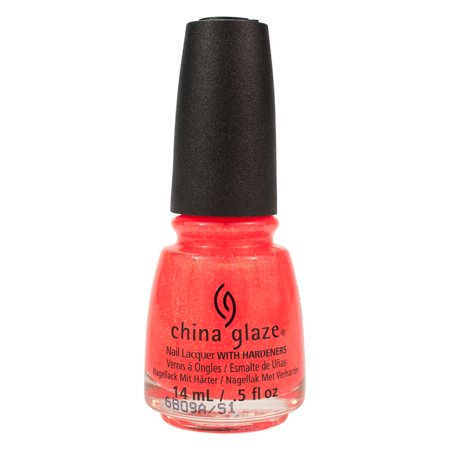 China Glaze 0.5oz Lacquer Nail Polish Orange Lite Brites Summer, PAPA DON
