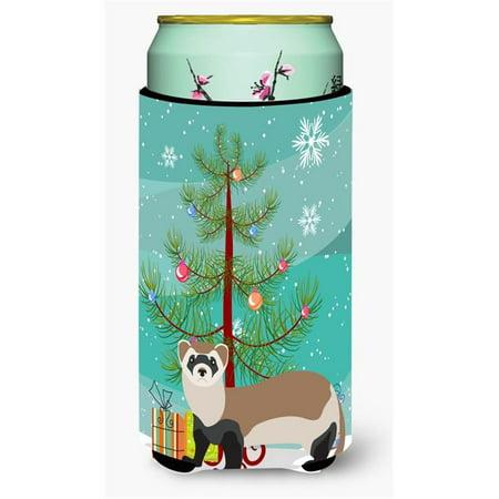 Carolines Treasures BB9245TBC Ferret Christmas Tall Boys Beverage Insulator Hugger - image 1 de 1