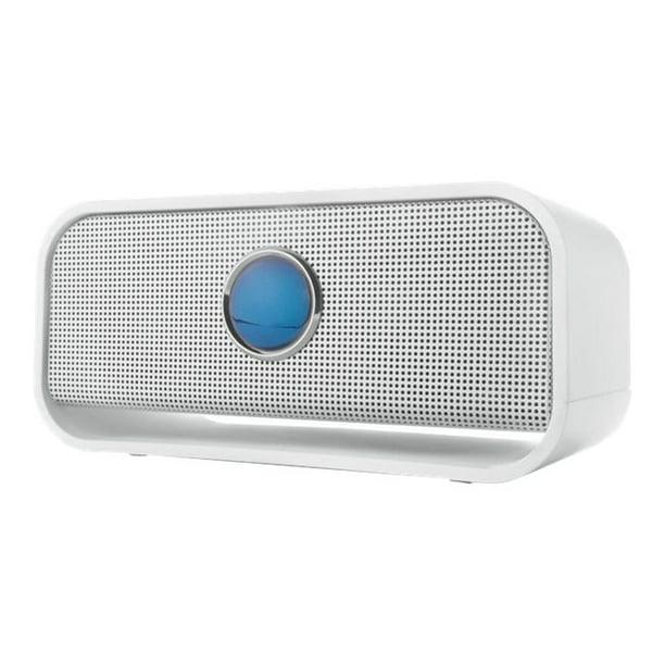 Brookstone Big Blue Live Wireless Bluetooth Speaker - Speaker - for  portable use - wireless - Bluetooth - 9 Watt - white