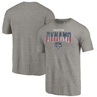 Houston Dynamo Fanatics Branded Freedom Tri-Blend T-Shirt - Gray