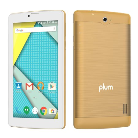 Plum Optimax 12 - Tablet + Phone Phablet 4G GSM Unlocked Android ATT Tmobile MetroPCS Cricket Simple Mobile –