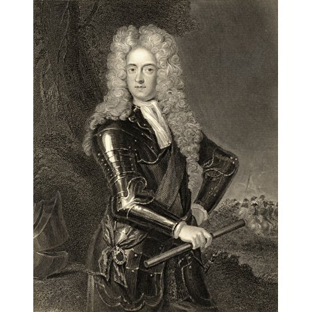 James Butler 2Nd Duke Of Ormond 1665-1745 Irish General 19Th Century Print Engraved By H Robinson From The Original Of Kneller PosterPrint