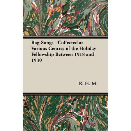 Rag-Songs - Collected at Various Centres of the Holiday Fellowship Between 1918 and 1930 - image 1 de 1
