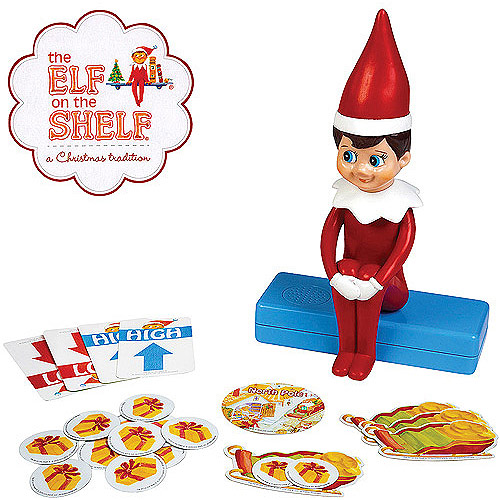 Pressman Toy Elf on the Shelf Hide and Seek Game