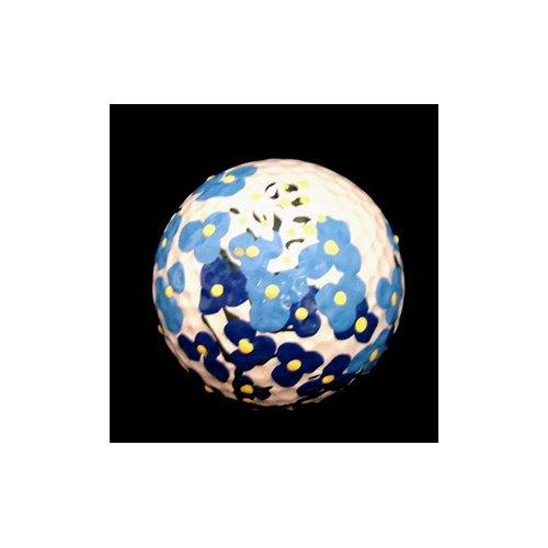Bellissimo Texas Bluebonnets Design Hand Painted Golf Ball