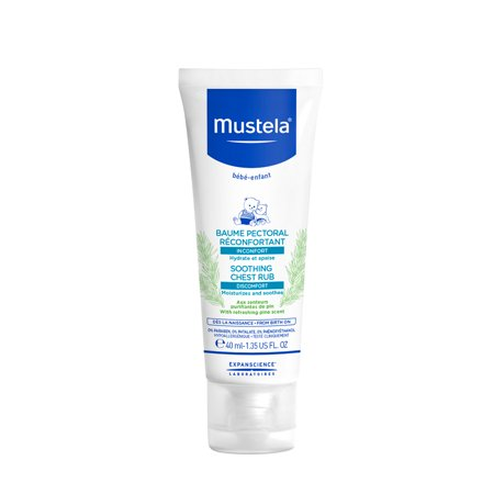 Mustela Baby Soothing Chest Rub with Refreshing Pine Scent 1.35 Oz