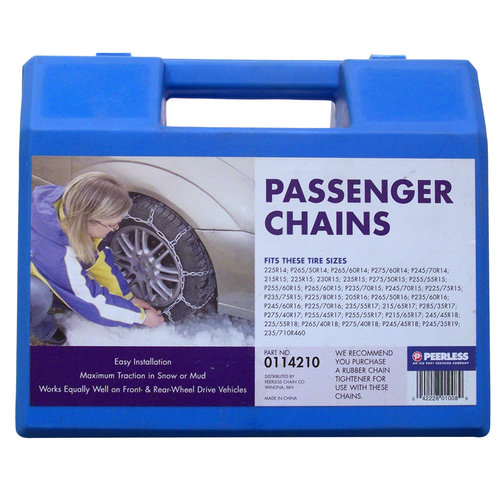 Peerless Passenger Car Tire Chains, #114210