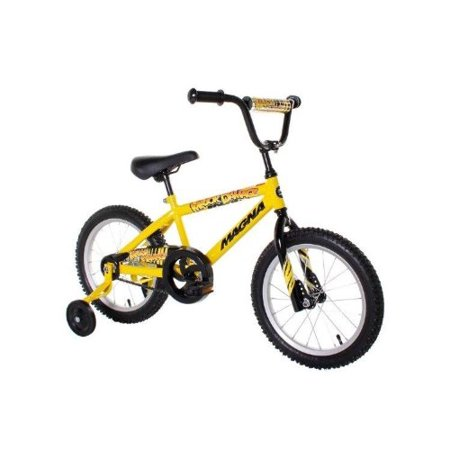 "Dynacraft Magna Major Damage Boys BMX Street/Dirt Bike 16"", Yellow/Black - image 1 de 1"