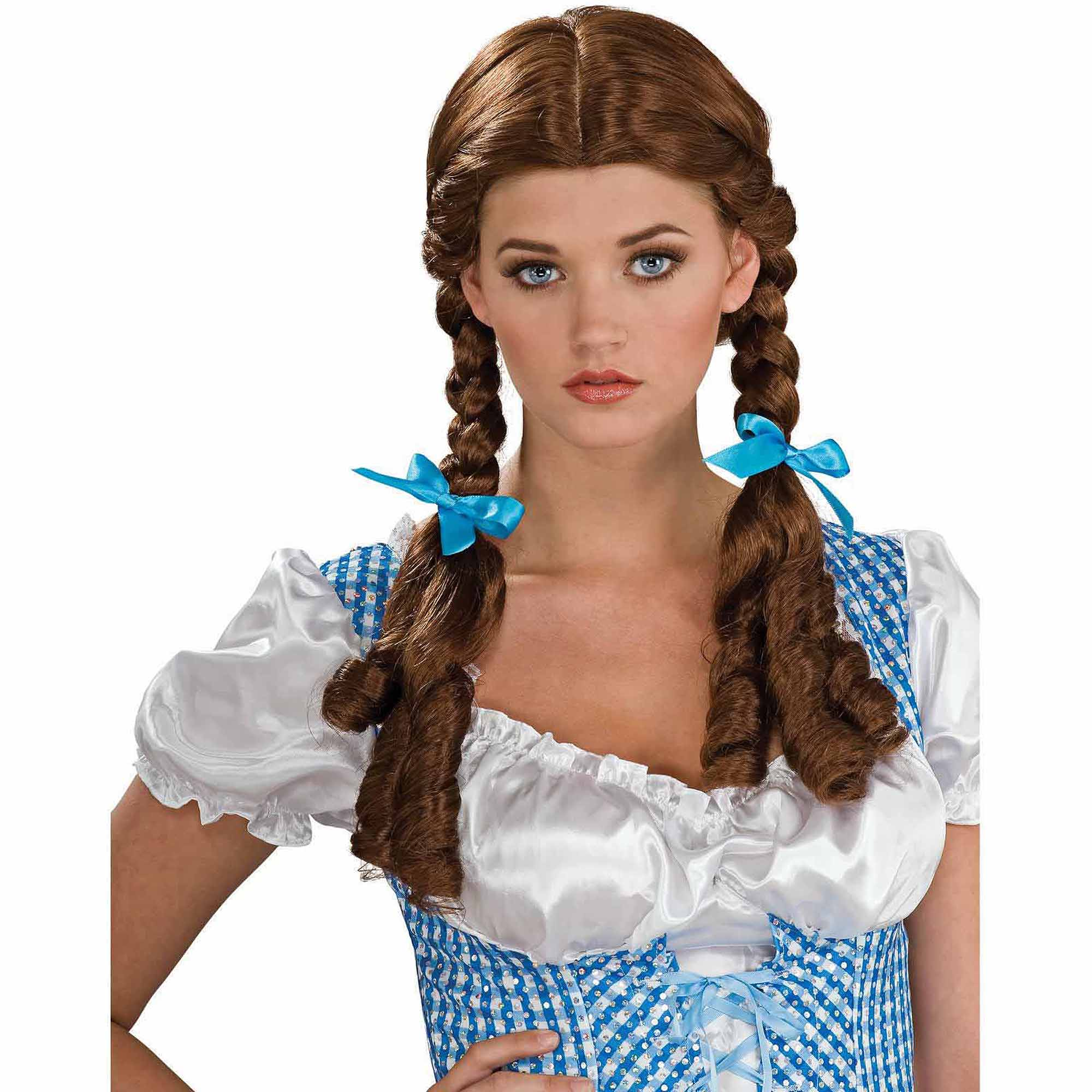 The Wizard of Oz Deluxe Dorothy Wig Adult Halloween Costume Accessory