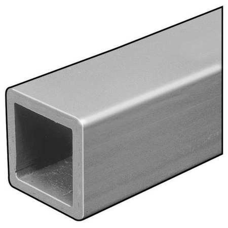 DYNAFORM W-Beam,ISOFR,Gray,6x6 In,1//4 In Th,10 Ft Dark Gray 871120