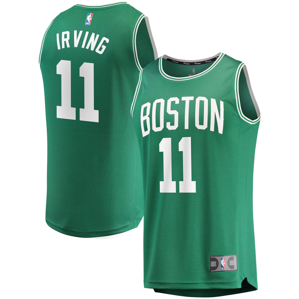 Kyrie Irving Boston Celtics FC ENERGY Youth Fast Break Replica Jersey Green