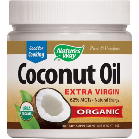 nature 39 s way extra virgin coconut oil organic 16 0 oz. Black Bedroom Furniture Sets. Home Design Ideas